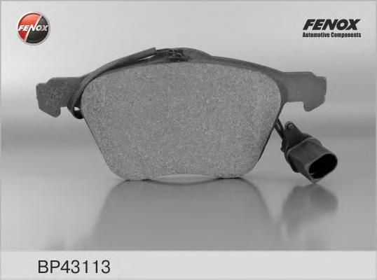 Колодки тормозные дисковые Fenox. BP43113BP43113