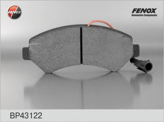Колодки тормозные дисковые Fenox. BP43122BP43122