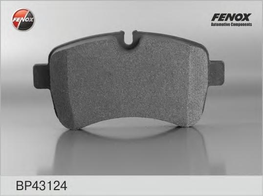 Колодки тормозные дисковые Fenox. BP43124BP43124