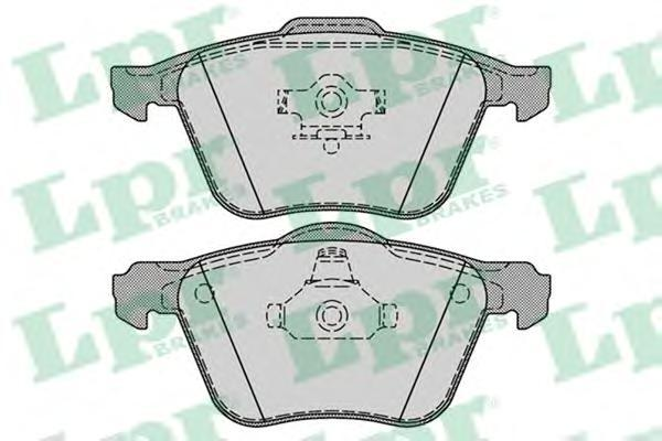 Колодки тормозные дисковые LPR / AP. 05P128605P1286