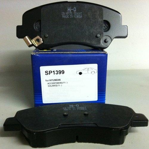 Колодки тормозные дисковые Sangsin. SP1399SP1399