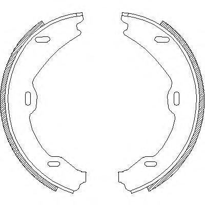 Колодки тормозные дисковые Remsa, комплект. 470601470601