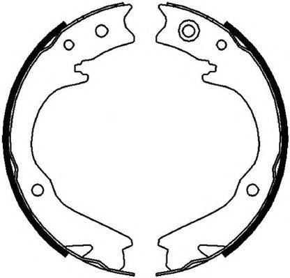 Колодки тормозные дисковые Ferodo, комплект. FSB4063FSB4063
