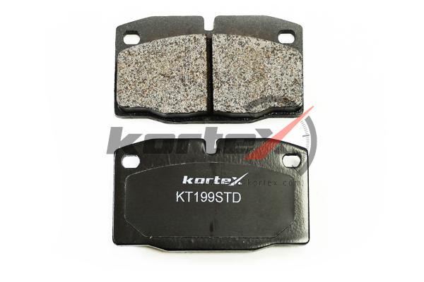 Колодки тормозные дисковые Kortex, передние, комплект. KT199STDKT199STD