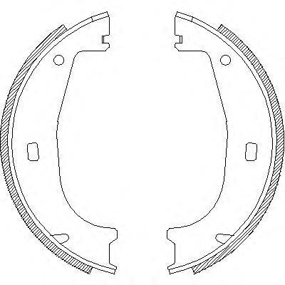 Колодки тормозные дисковые Remsa, комплект. 440600440600