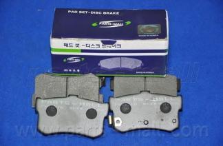 Колодки тормозные дисковые PMC, задние. PKA010PKA010