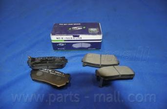 Колодки тормозные дисковые PMC, задние. PKB008PKB008