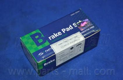 Колодки тормозные дисковые PMC, задние. PKAE09PKAE09