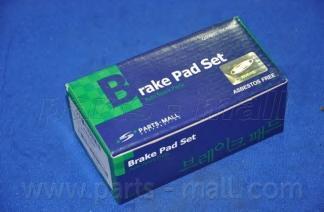 Колодки тормозные дисковые PMC, передние. PKB038PKB038