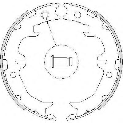 Колодки тормозные дисковые Remsa, комплект. 474200474200