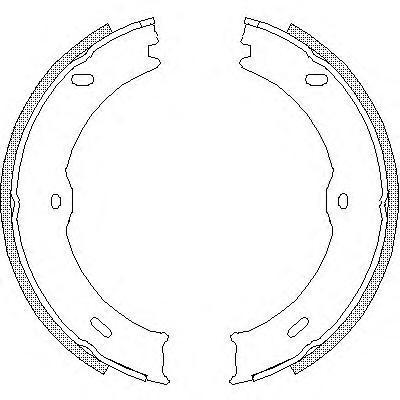 Колодки тормозные дисковые Remsa, комплект. 474600474600
