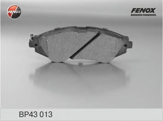 Колодки тормозные дисковые Fenox. BP43013BP43013