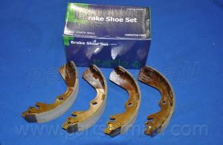Колодки тормозные барабанные PMC, задние. PLA026PLA026