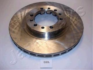 Диск тормозной Japanparts, 2 шт. DI-599DI-599