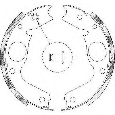 Колодки тормозные дисковые Remsa, комплект. 414800414800