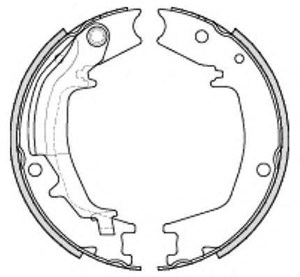 Колодки тормозные дисковые Remsa, комплект. 423500423500