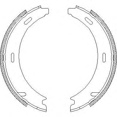Колодки тормозные дисковые Remsa, комплект. 409400409400
