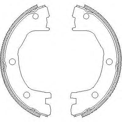 Колодки тормозные дисковые Remsa, комплект. 471200471200