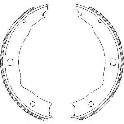 Колодки тормозные дисковые Remsa, комплект. 471700471700