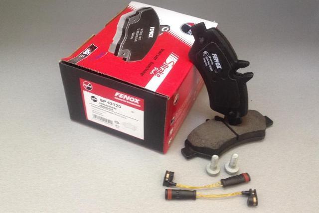 Колодки тормозные дисковые Fenox. BP43120BP43120
