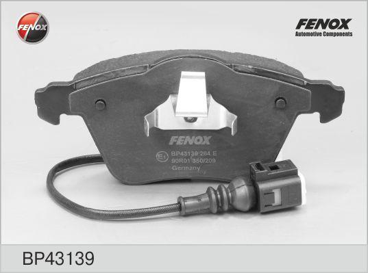 Колодки тормозные дисковые Fenox. BP43139BP43139