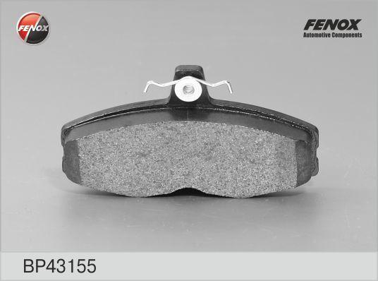 Колодки тормозные дисковые Fenox. BP43155BP43155
