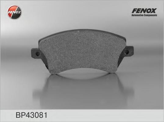 Колодки тормозные дисковые Fenox. BP43081BP43081