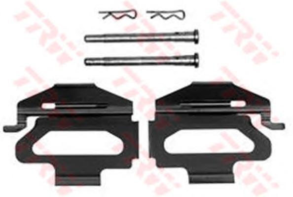 Комплект монтажный TRW, для тормозных колодок. PFK246PFK246