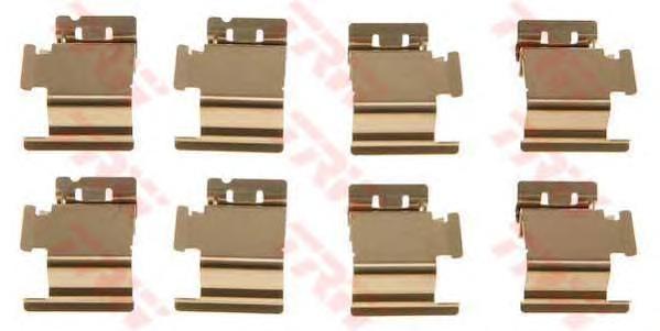 Комплект монтажный TRW, для тормозных колодок. PFK467PFK467