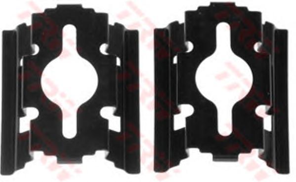 Комплект монтажный TRW, для тормозных колодок. PFK502PFK502