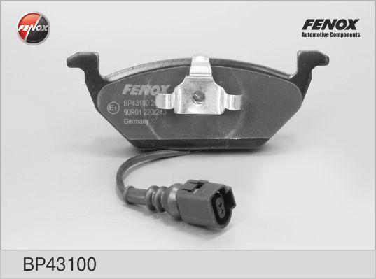 Колодки тормозные дисковые Fenox. BP43100BP43100