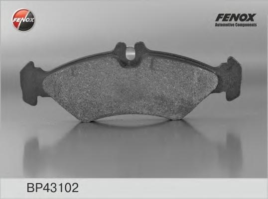 Колодки тормозные дисковые Fenox. BP43102BP43102