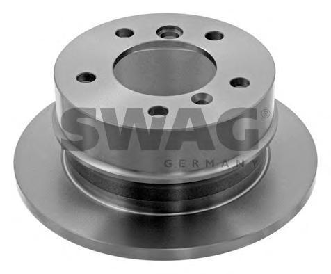 Диск тормозной Swag, 2 шт. 1090910210909102