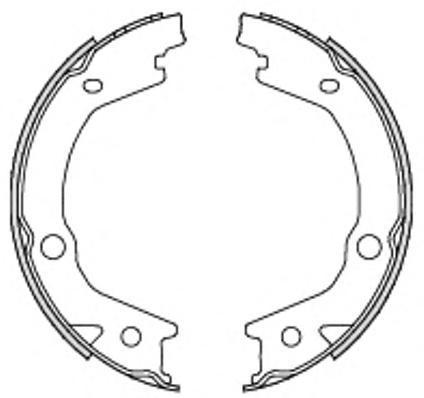 Колодки тормозные дисковые Remsa, комплект. 469700469700