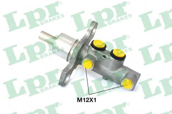 Колодки тормозные дисковые LPR / AP, комплект. 10301030