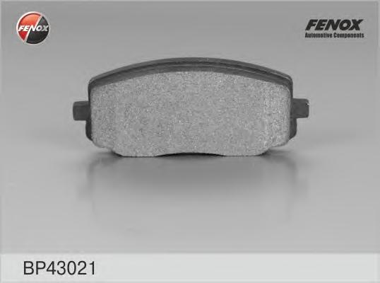 Колодки тормозные дисковые Fenox. BP43021BP43021