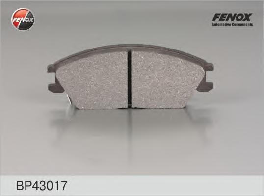 Колодки тормозные дисковые Fenox. BP43017 BP43017