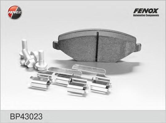 Колодки тормозные дисковые Fenox. BP43023BP43023