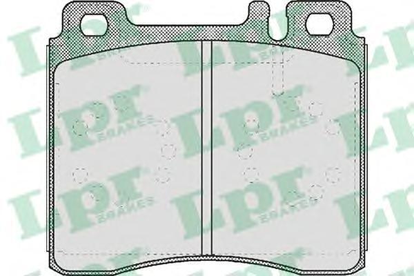 Колодки тормозные дисковые LPR / AP. 05P44605P446
