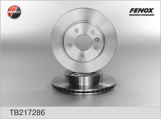 Диск тормозной Fenox, 2 шт. TB217286TB217286