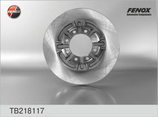 Диск тормозной Fenox. TB218117TB218117