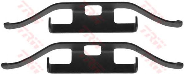 Комплект монтажный TRW, для тормозных колодок. PFK536PFK536