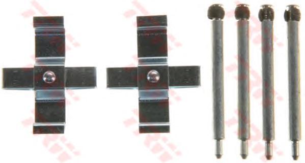 Комплект монтажный TRW, для тормозных колодок. PFK561PFK561