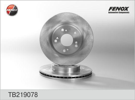 Диск тормозной Fenox, 2 шт. TB219078TB219078