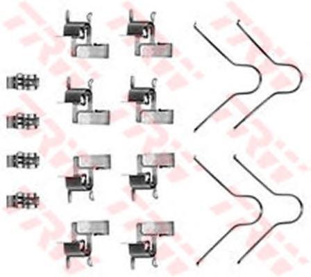Комплект монтажный TRW, для тормозных колодок. PFK189PFK189