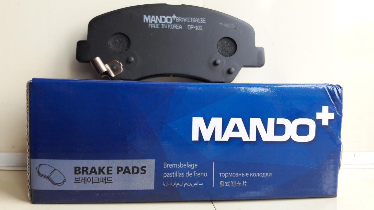 Колодки тормозные дисковые Mando, передние. MPH46MPH46