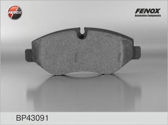 Колодки тормозные дисковые Fenox. BP43091BP43091