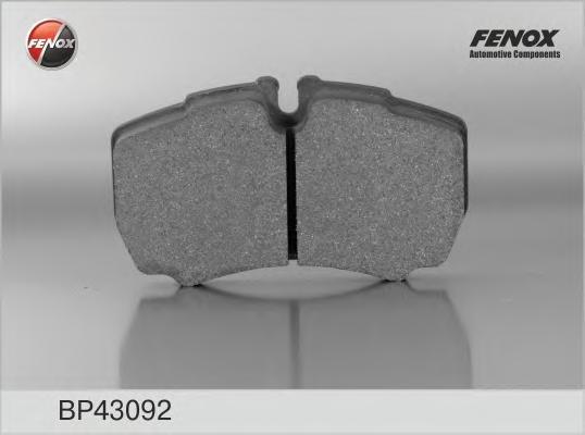 Колодки тормозные дисковые Fenox. BP43092BP43092