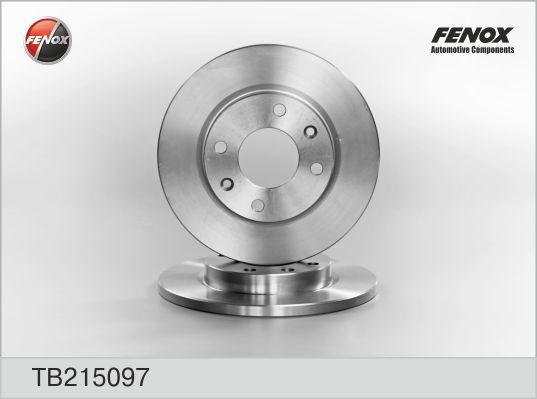 Диск тормозной Fenox, 2 шт. TB215097TB215097