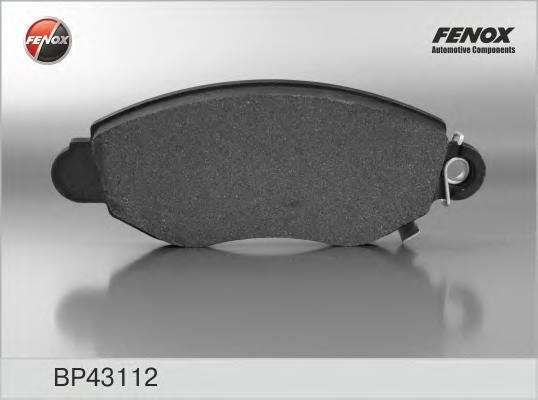 Колодки тормозные дисковые Fenox. BP43112BP43112